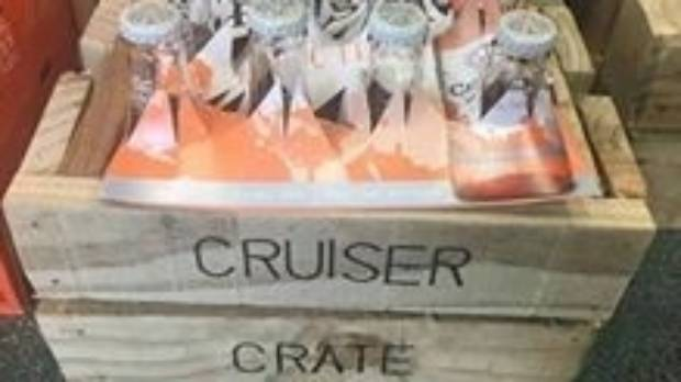 One of the Cruiser Crates sold by Liquorland Timaru.