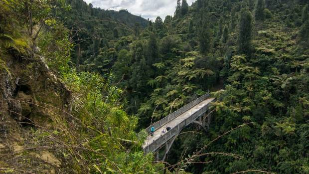 The improbable Bridge to Nowhere.
