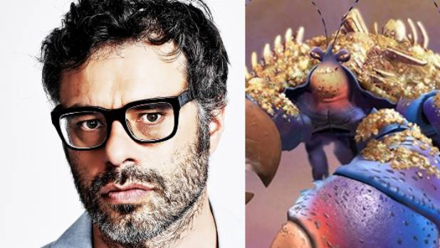 Jemaine Clement A David Bowie Esque Crab In Moana Stuff Co Nz