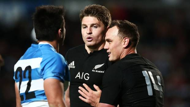 Argentina found plenty of space around the fringes of the All Black ruck in NZ last year.