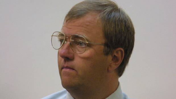 Mark Lundy during his first trial.