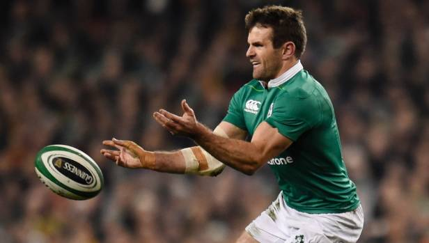 Ireland centre Jared Payne sidelined for three months with kidney injury