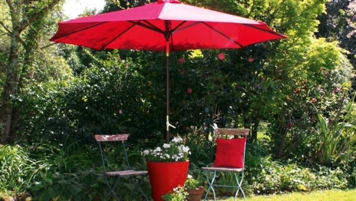 This Sunshade Stand Planter Combo Is Quick And Easy To Make