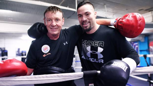 Trainer Kevin Barry likes the work ethic of Joseph Parker as they prepare for the WBO world title fight against Hughie Fury.