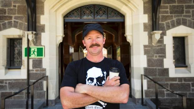 Bunsen's owner Hamish Evans, the man behind Switch Espresso and Black Betty.