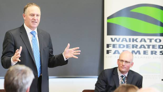 Prime Minister John Key says farmers need to keep talking with the regional council about concerns over the Healthy ...