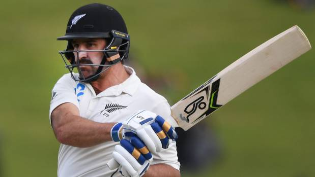 Allrounder Colin de Grandhomme made a dream start with the ball but he still needs to prove he's a genuine test No 6 batsman.