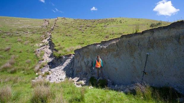 The Kaikoura earthquake ruptured a huge stretch of land.