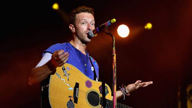 Coldplay frontman Chris Martin addresses rules ahead of concert  Stuff.co.nz
