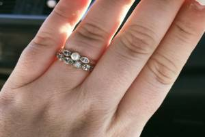 Ariel McRae says it isn't the ring that matters, it is the love that goes into buying one that is.