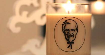 Scented candles are all the rage, and KFC's released their own.