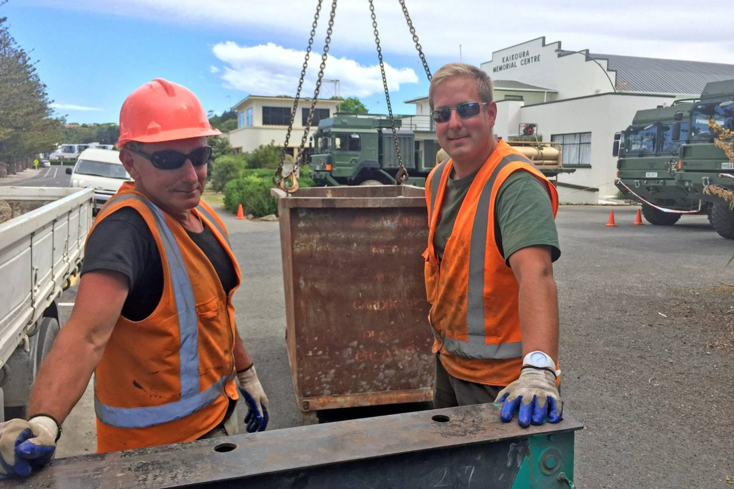 Vintage tractor fan helps take up the slack for Kaikoura's waste