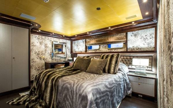 Roberto Cavalli Yacht Interior