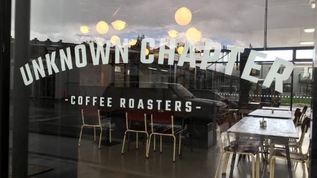 Unknown Chapter Coffee Roasters is the newest cafe on St Asaph St.