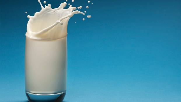 A glass of dairy milk has around eight grams of protein.