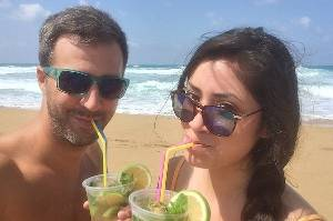 Zsolt Levai met Sariah Lizama on a dating website which pairs like-minded travellers.