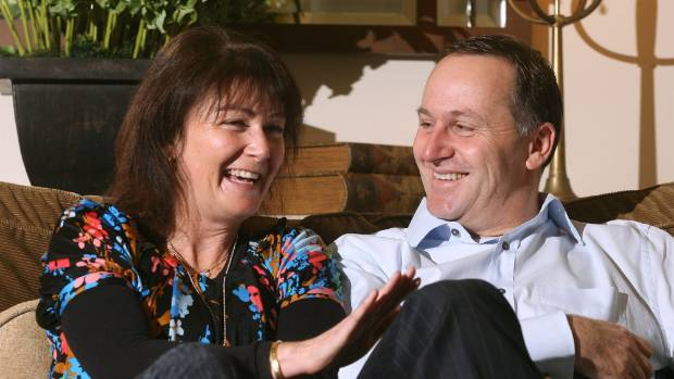 Prime Minister John Key says his wife Bronagh has made many sacrifices during his career.