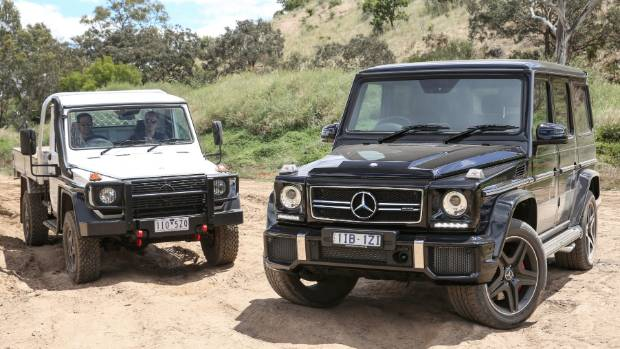 Two relatively mainstream faces of G-wagen. But beyond here, things start to get weird...
