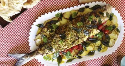 Kerala baked kahawai