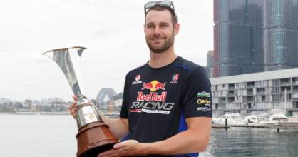 Shane van Gisbergen became the 2016 Supercars champion over the weekend.