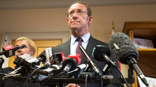 Andrew Little said he opposed any changes to the superannuation age, due to the strain it could place on some elderly people.