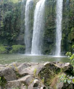 This summer the Otuihau Falls will be the location of a pilot Maori tourism project.