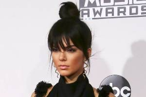 Kendall Jenner led the faux-fringe charge last year, with a complimenting top-knot at the American Music Awards.