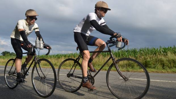 Phil Keoghan and Ben Cornell circumnavigated France in their quest to recreate the 1928 Tour de France for Le Ride.