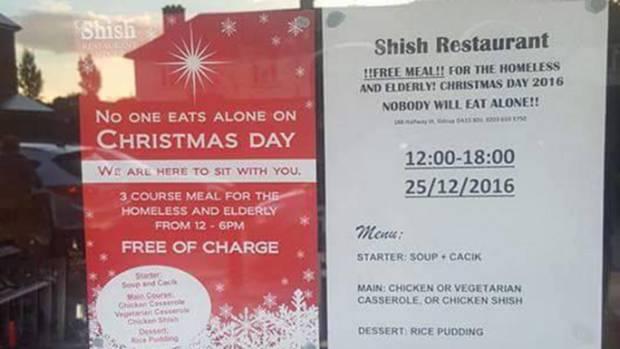 Muslim Restaurant-Christmas Dinner