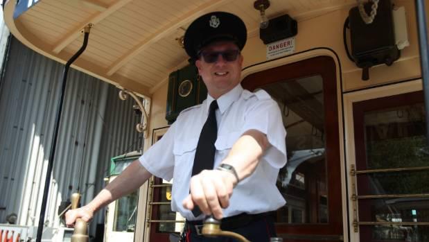 James Duncan has been a Motat tramway volunteer since he was 15.