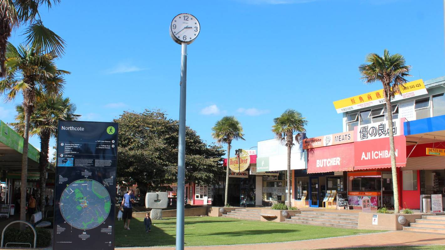 Redevelopment Plans For Auckland's Northcote Town Centre