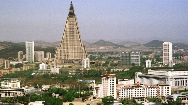Esquire magazine once dubbed the 105-storey Ryugyong Hotel as