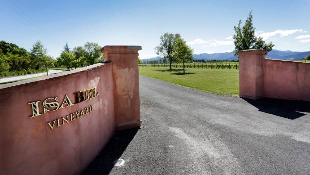 Isabel Estate winery on Hawkesbury Rd in Marlborough was bought by a subsidary of Australian company Woolworths last year.