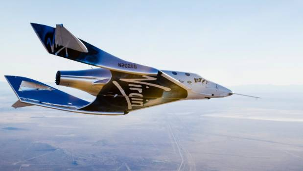 Virgin Galactic's Unity space plane breaks new speed record