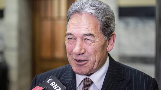 NZ First leader Winston Peters says New Zealand homes should be for New Zealand residents.