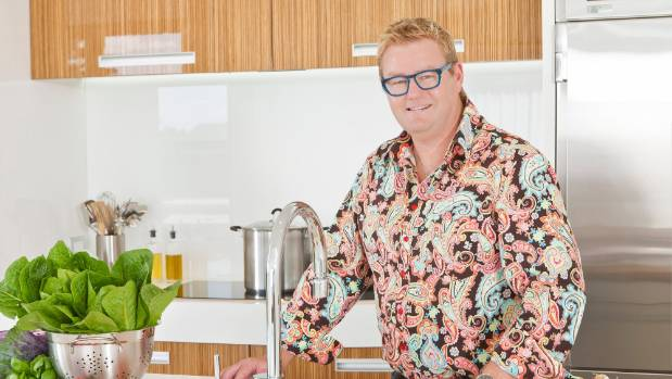 Top New Zealand kitchen designer Mal Corboy.