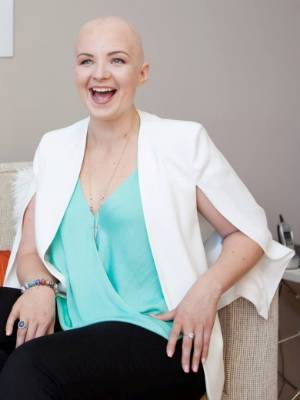 Amber Arkell was diagnosed last December with breast cancer.