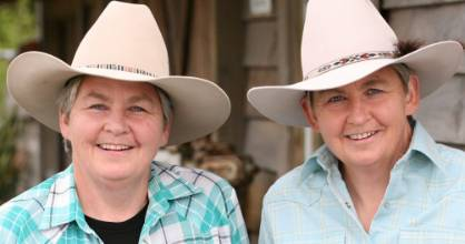 The Topp Twins, Lynda and Jools, will perform at the 80th Wanaka A&P Show on March 10-11.