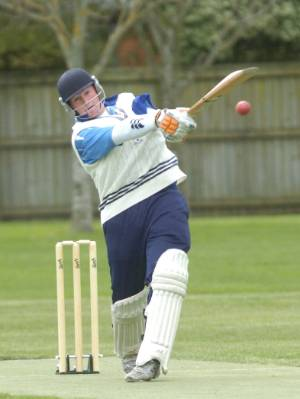 Tom Walsh excelled at cricket as a school boy with an explosive bat.