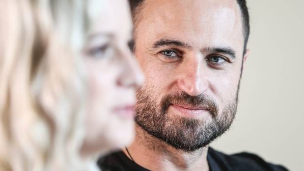 Season two's bachelor Jordan Mauger sits beside competition winner Fleur Verhoeven, who he broke up with after the show ...