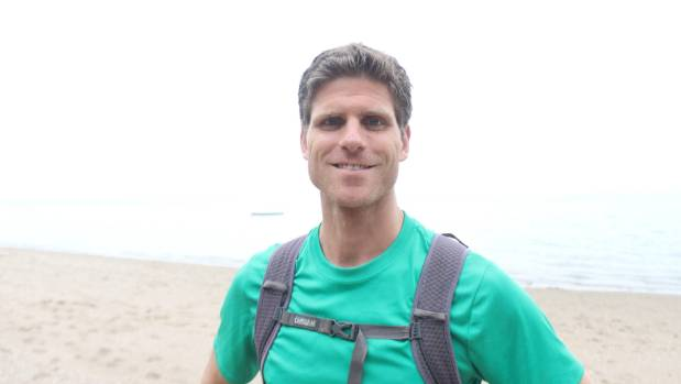 Alex Asher will run 1100 kilometres in on month to raise money and awareness of New Zealand's coastlines.