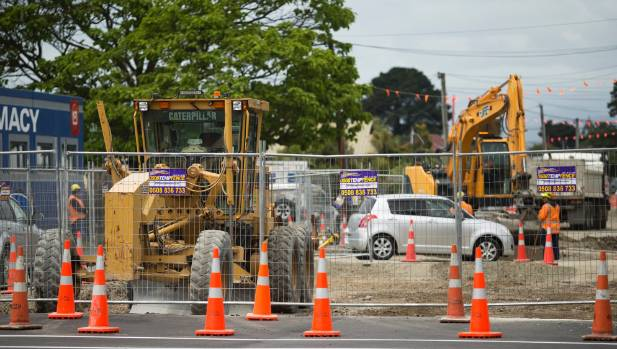 In Aranui, roadworks are an ongoing frustration, six years on from the 2011 earthquakes.