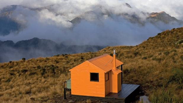 backcountry huts of new zealand three of the best. Black Bedroom Furniture Sets. Home Design Ideas