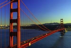 You will get a bird's eye view of The Golden Gate Bridge.