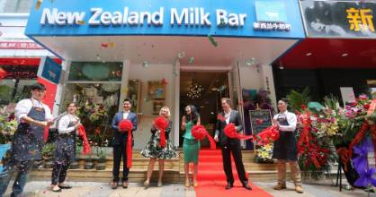 Fonterra is not the only company making inroads into China with dairy products. The country is proving a fertile ground ...