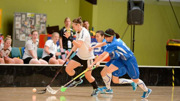 Floorball - which is similar to hockey - has developed a strong following in Wellington over the past few years with an ...