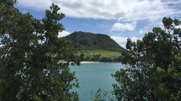 The Mount, named Mauao, is actually an extinct volcano cone.
