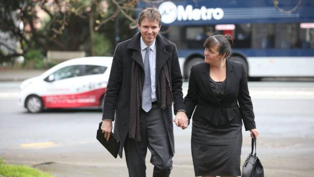 He was never going to challenge Bob Dylan, but Colin Craig, arriving at court with his wife Helen, helped to put poetry ...