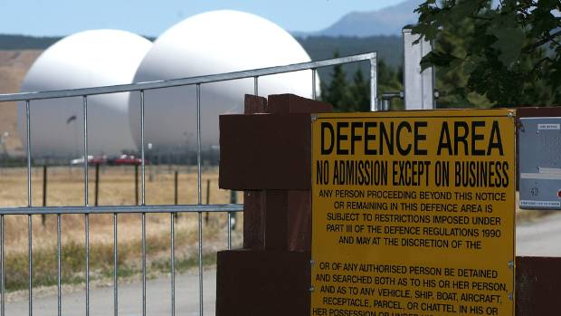 The GCSB-run secure communication base at Waihopai, in Marlborough.  Under US directives, New Zealand contributes ...