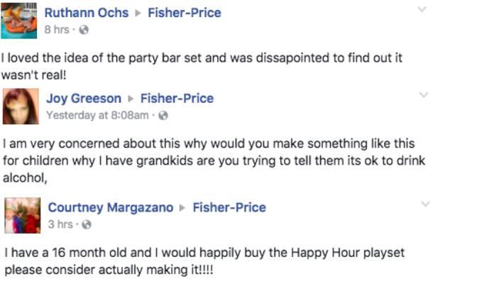 Fisher Price Debunks Fake Happy Hour Playset Toy Stuffconz